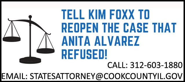 tell kim fox to reopen the case